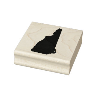 New Hampshire Solid Rubber Art Stamp