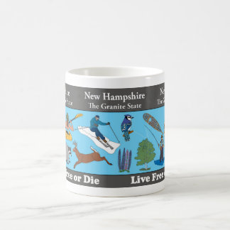 New Hampshire State Commemorative Mug