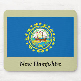 New Hampshire State Flag Mouse Mat