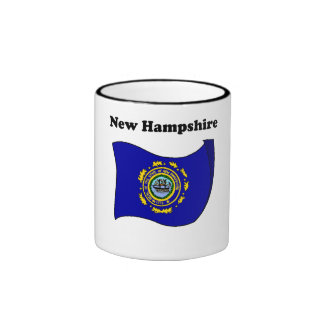 New Hampshire State Flag Mugs