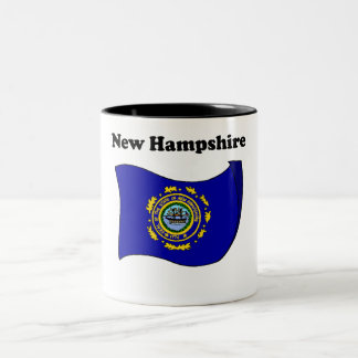 New Hampshire State Flag Coffee Mugs