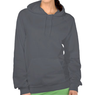New Hampshire State Pride Map Silhouette Hooded Sweatshirt
