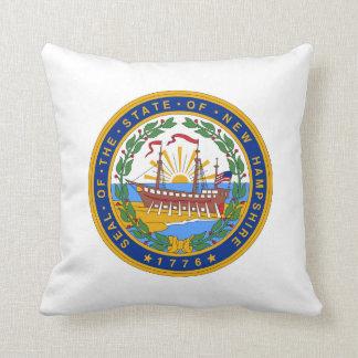 New Hampshire state seal america republic symbol f Cushion