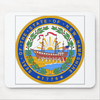 New Hampshire State Seal Mouse Pads