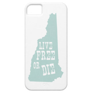 New Hampshire State Slogan Motto iPhone 5 Cases