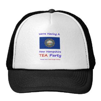 New Hampshire TEA Party - Taxed Enough Already Trucker Hats