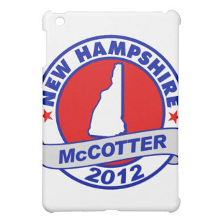 New Hampshire Thad McCotter iPad Mini Cover