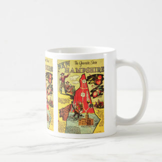 New Hampshire the Granite State Coffee Mug