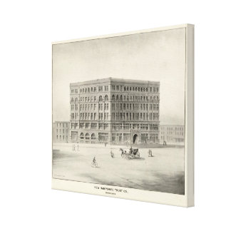 New Hampshire Trust Co, Manchester Canvas Print