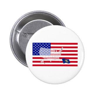 New Hampshire USA Pins