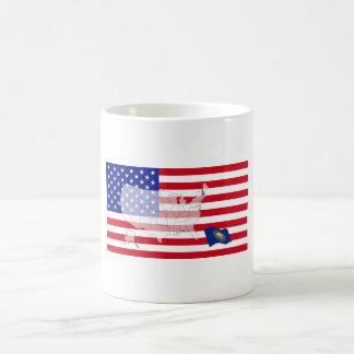 New Hampshire, USA Basic White Mug