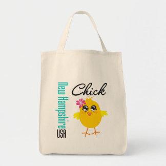 New Hampshire USA Chick Bag
