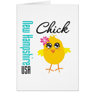 New Hampshire USA Chick Cards