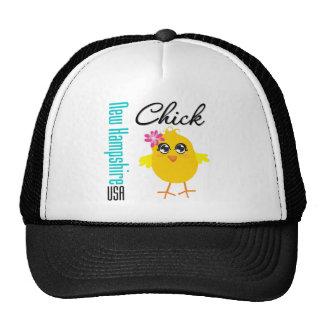 New Hampshire USA Chick Hat