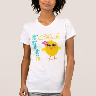 New Hampshire USA Chick Shirt
