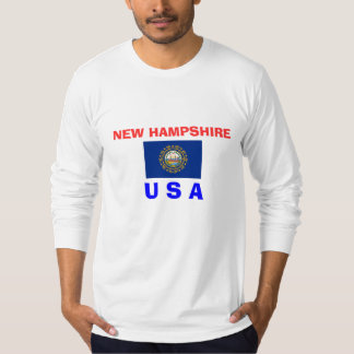 NEW HAMPSHIRE* USA FLAG SHIRT