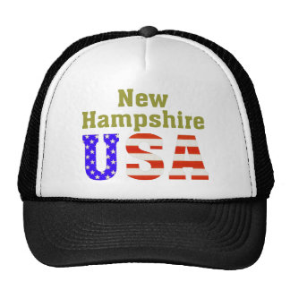 New Hampshire USA! Hats