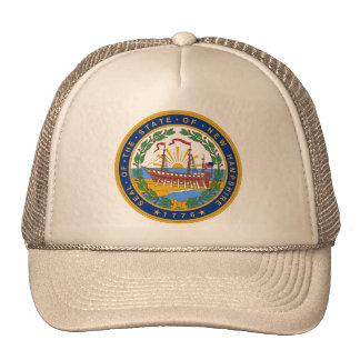 New Hampshire, USA Mesh Hats