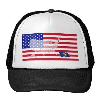 New Hampshire, USA Mesh Hat