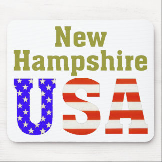 New Hampshire USA Mouse Pads