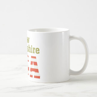 New Hampshire USA! Basic White Mug