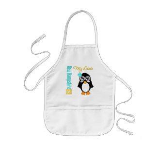 New Hampshire USA Penguin Aprons