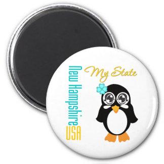 New Hampshire USA Penguin Magnets