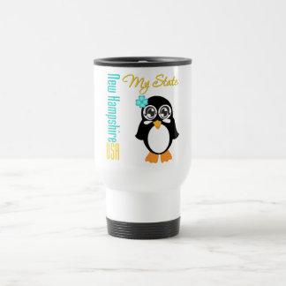 New Hampshire USA Penguin Coffee Mugs