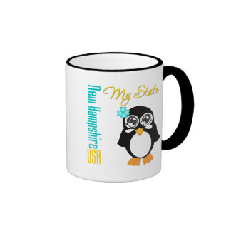 New Hampshire USA Penguin Mug