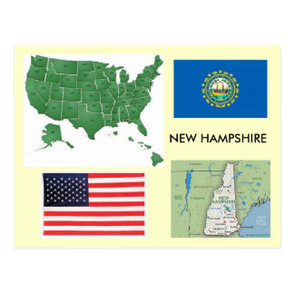 New Hampshire, USA Postcard