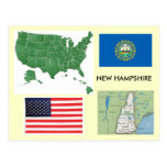 New Hampshire, USA Postcards