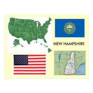 New Hampshire USA Postcards