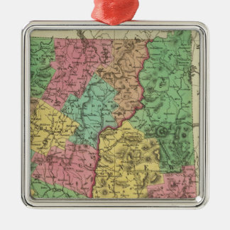New Hampshire & Vermont 2 Christmas Ornament