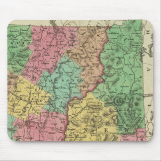 New Hampshire & Vermont 2 Mouse Pad