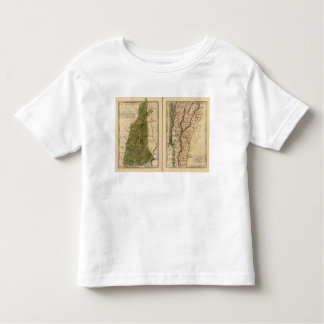 New Hampshire, Vermont 3 Toddler T-Shirt