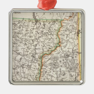 New Hampshire, Vermont Christmas Ornament