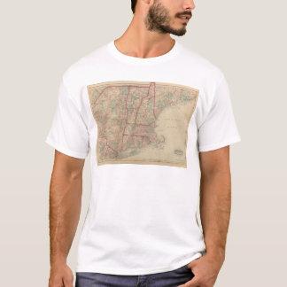 New Hampshire, Vermont, Massachusetts T-Shirt