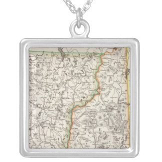 New Hampshire, Vermont Silver Plated Necklace
