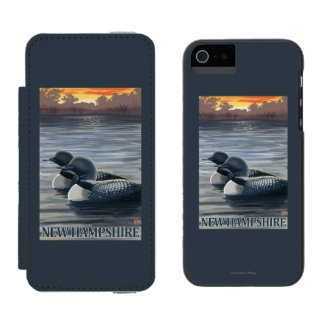 New HampshireCommon Loon Incipio Watson™ iPhone 5 Wallet Case