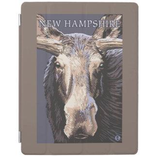 New HampshireMoose Up Close iPad Cover