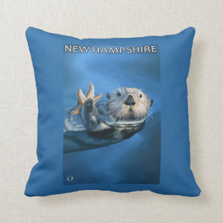 New HampshireSea Otter Scene Cushion