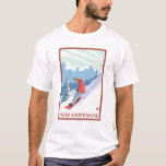 New HampshireSnowboarder Scene T-Shirt