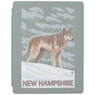 New HampshireWolf Scene iPad Cover