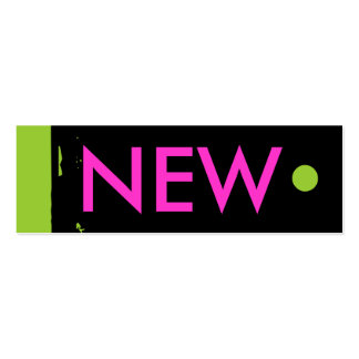 """""""NEW"""" Hang Tag Business Card Templates"""