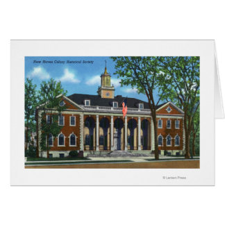 New Haven Colony Historical Society Card