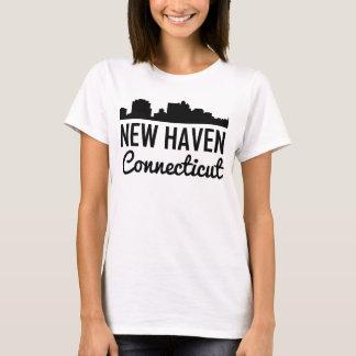 New Haven Connecticut Skyline T-Shirt