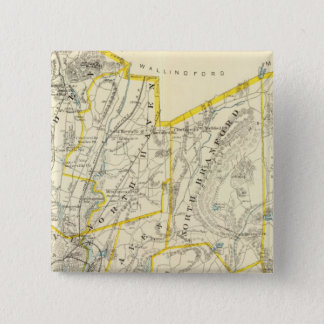 New Haven County 15 Cm Square Badge