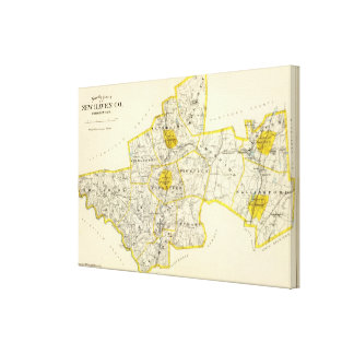 New Haven County Connecticut 2 Canvas Print