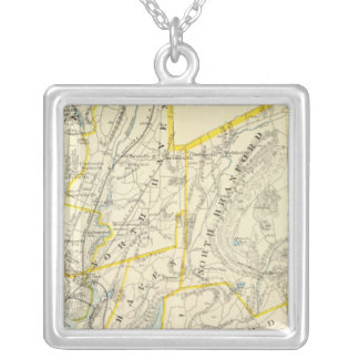 New Haven County Silver Plated Necklace