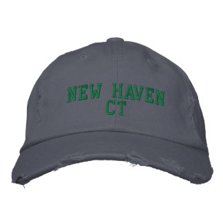 NEW HAVEN CT EMBROIDERED HAT
